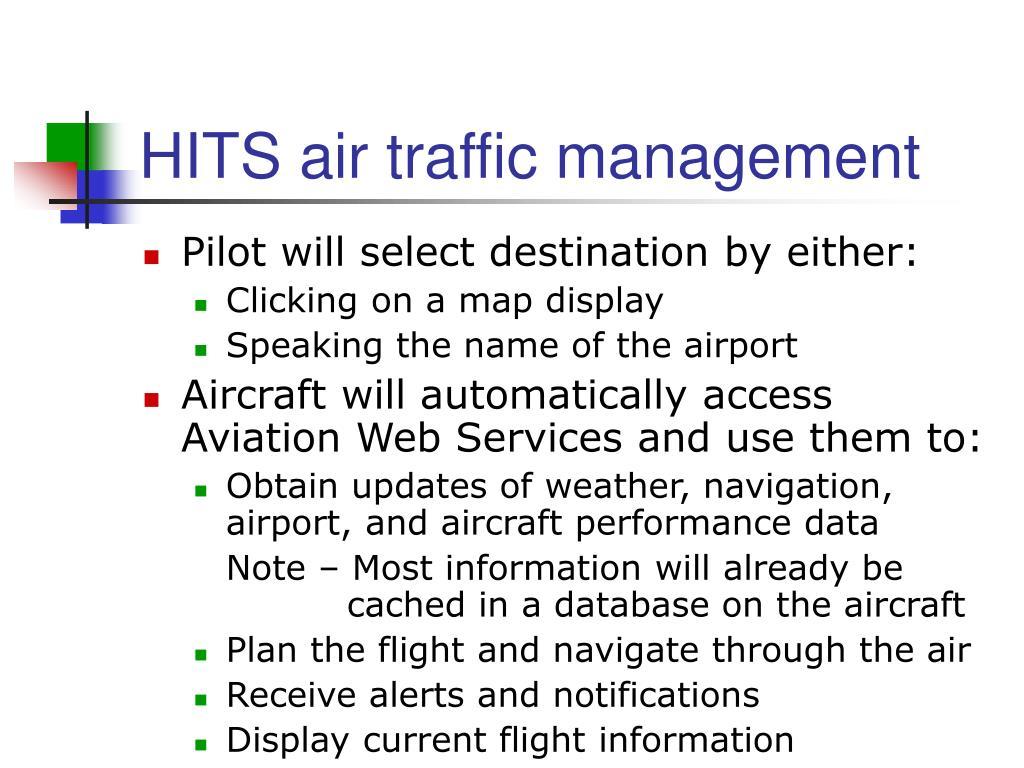 HITS air traffic management