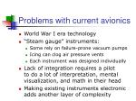 problems with current avionics