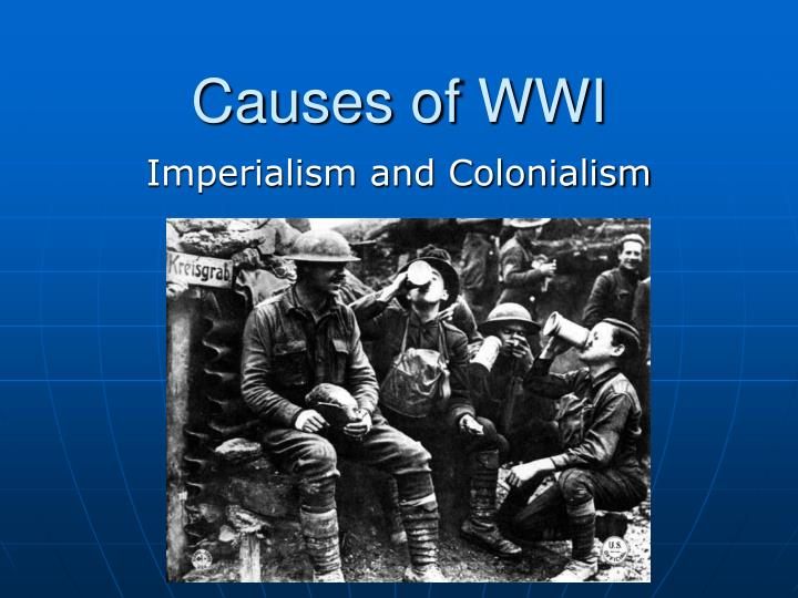 wwi and causes