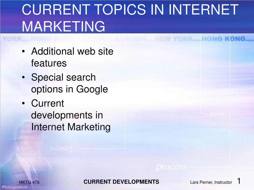Additional web site features