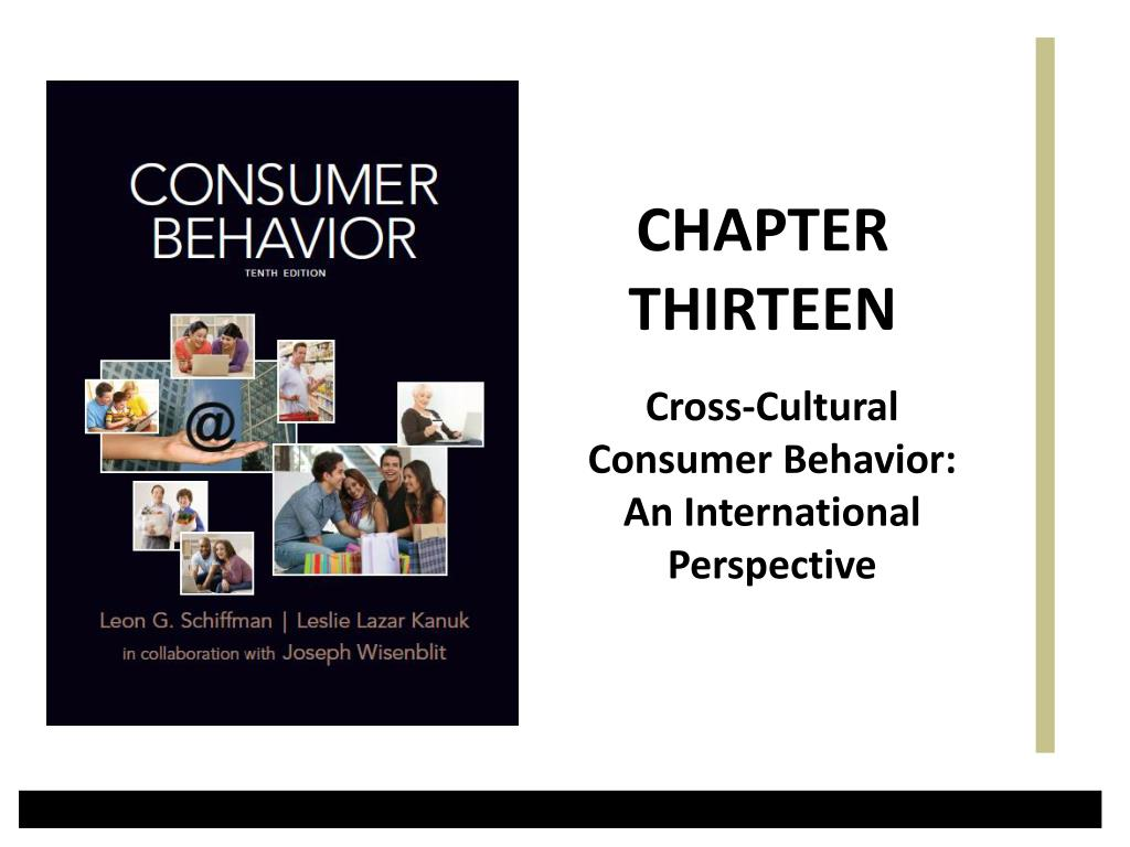 cross cultural consumer behavior an international perspective l.