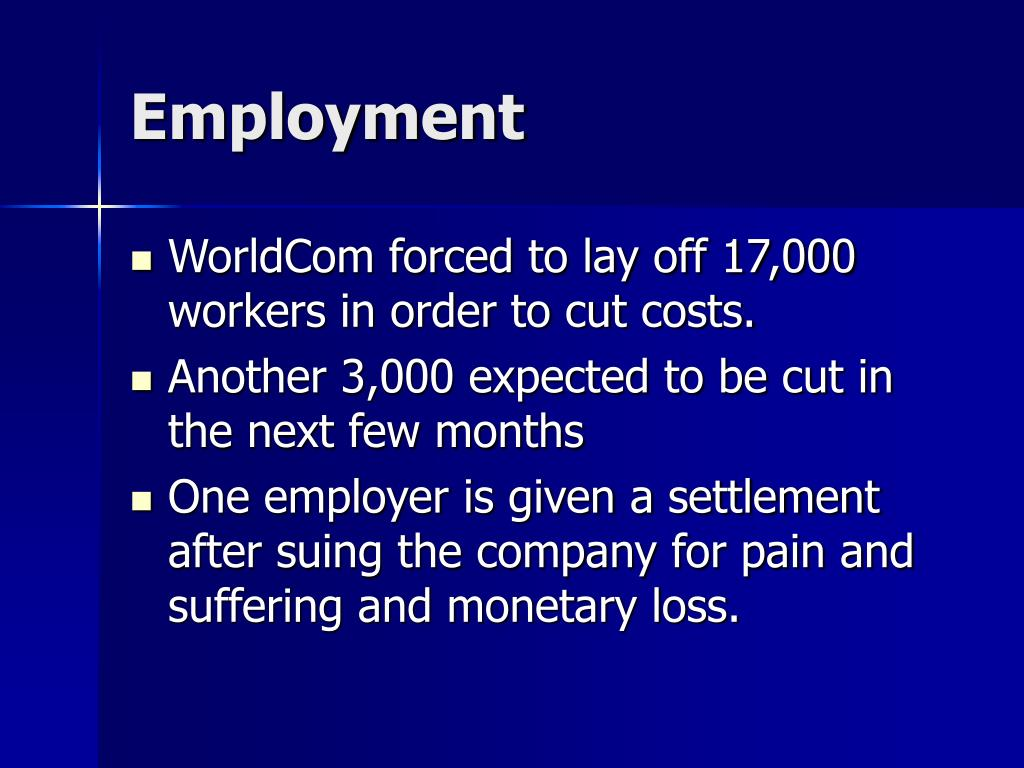 worldcom fraud essay Worldcom scandal (term paper sample) and this explains why the worldcom accounting scandal was a major headache to the.