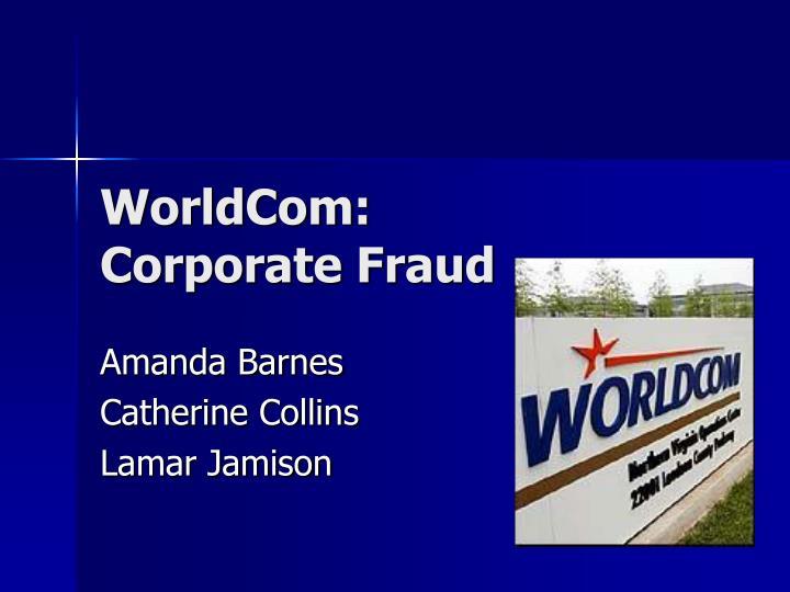 worldcom corporate fraud n.