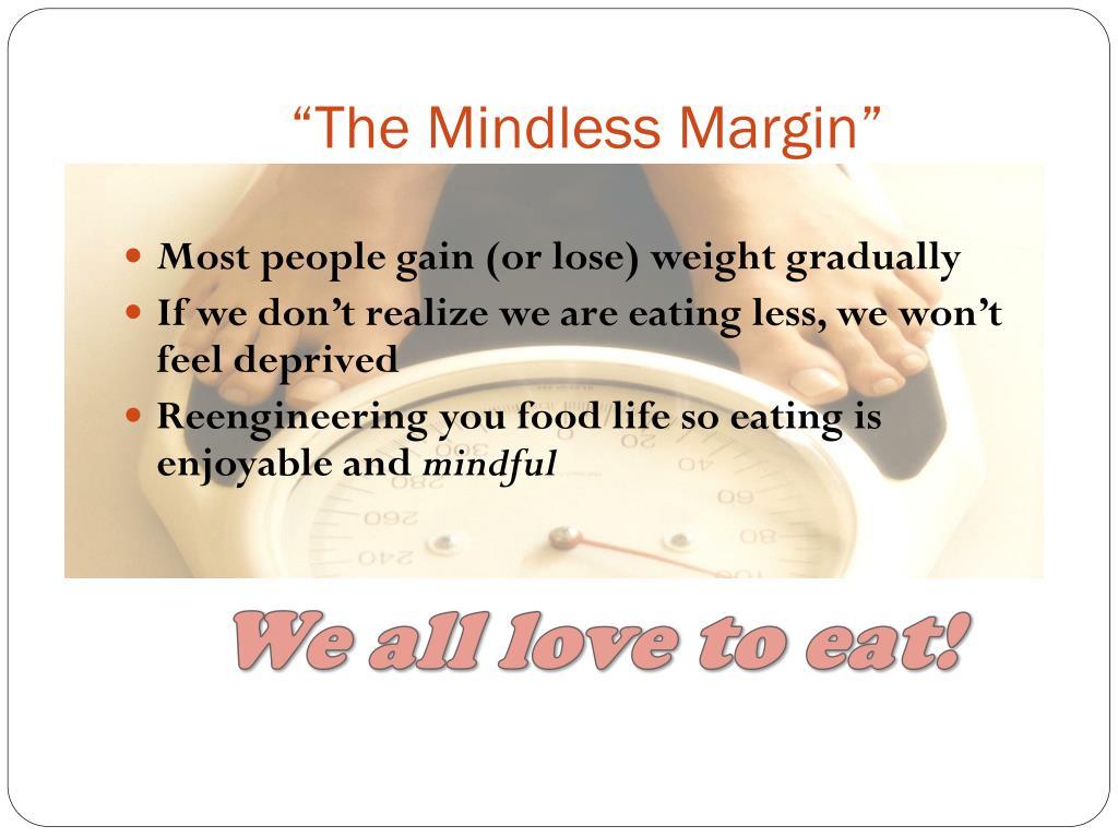 """The Mindless Margin"""