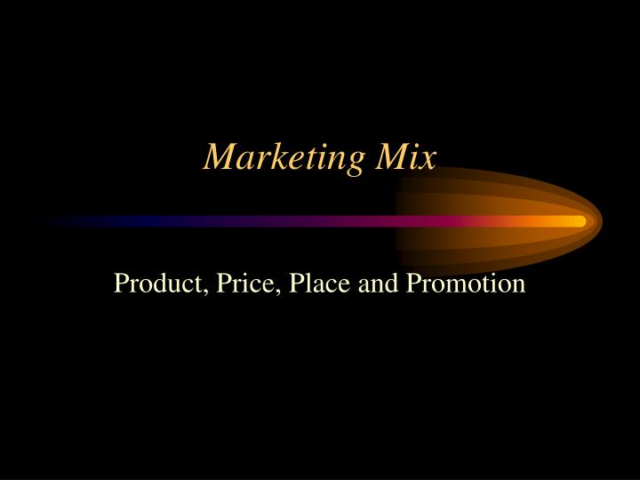 marketing mix of fitness first