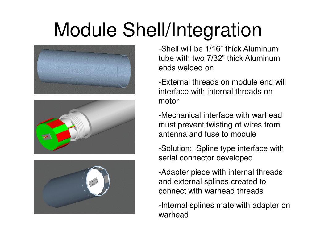 Module Shell/Integration