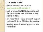 it in social audit
