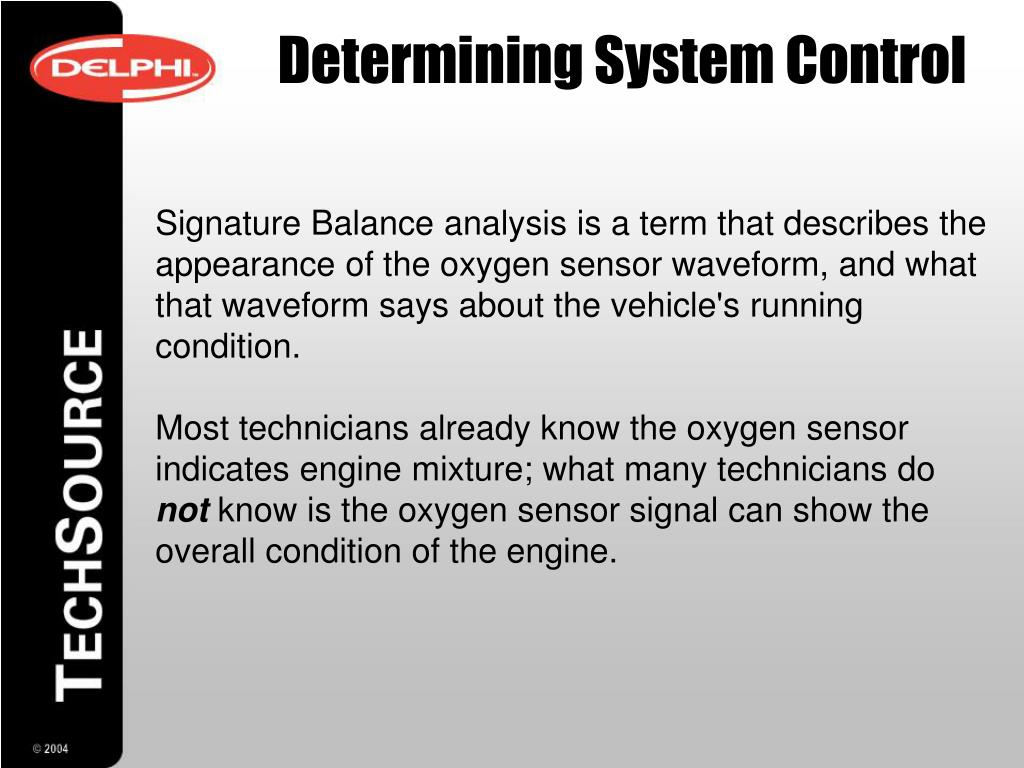 PPT - Oxygen Sensors Operation & Testing PowerPoint