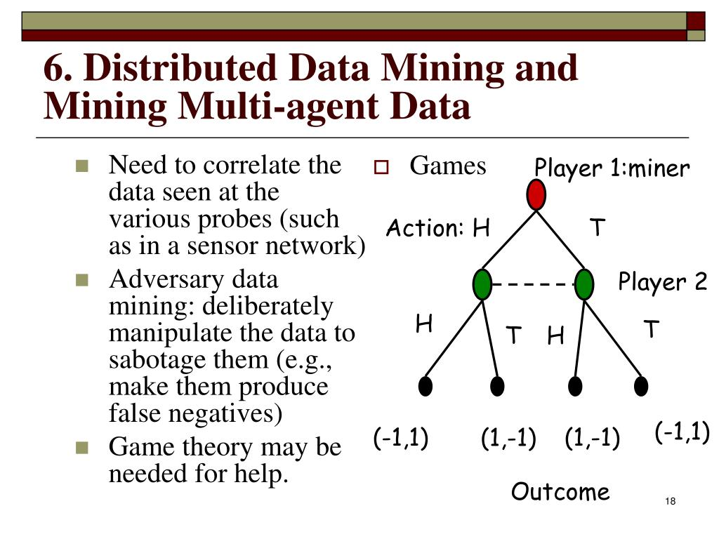 Need to correlate the data seen at the various probes (such as in a sensor network)