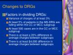 changes to drgs65