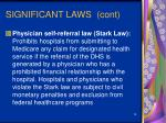 significant laws cont18