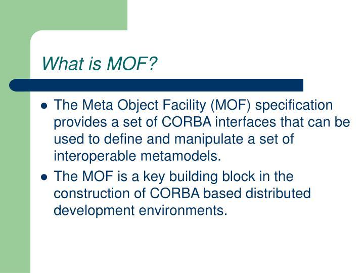what is mof n.