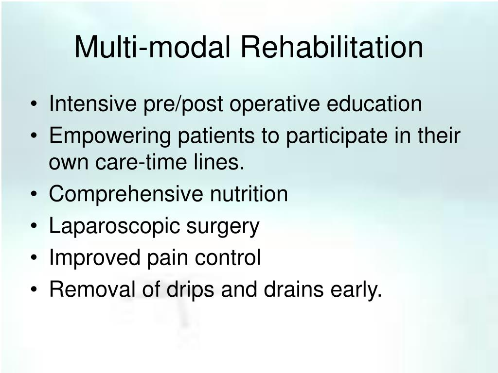 Multi-modal Rehabilitation