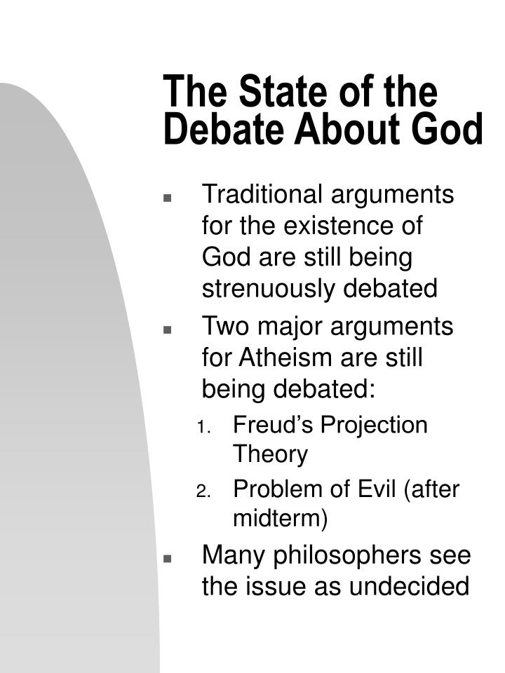 a research on evidentialinductive argument on the existence of god Moral arguments for god's existence form a diverse family of arguments that reason from some feature of morality or the moral life to the existence of god, usually understood as a morally good creator of the universe moral arguments are both important and interesting.