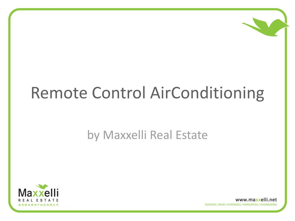 remote control airconditioning l.