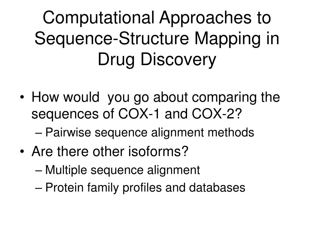 Computational Approaches to Sequence-Structure Mapping in Drug Discovery