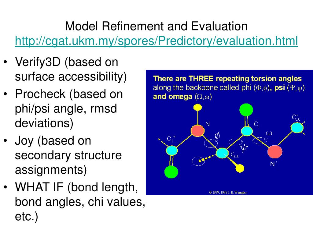 Model Refinement and Evaluation