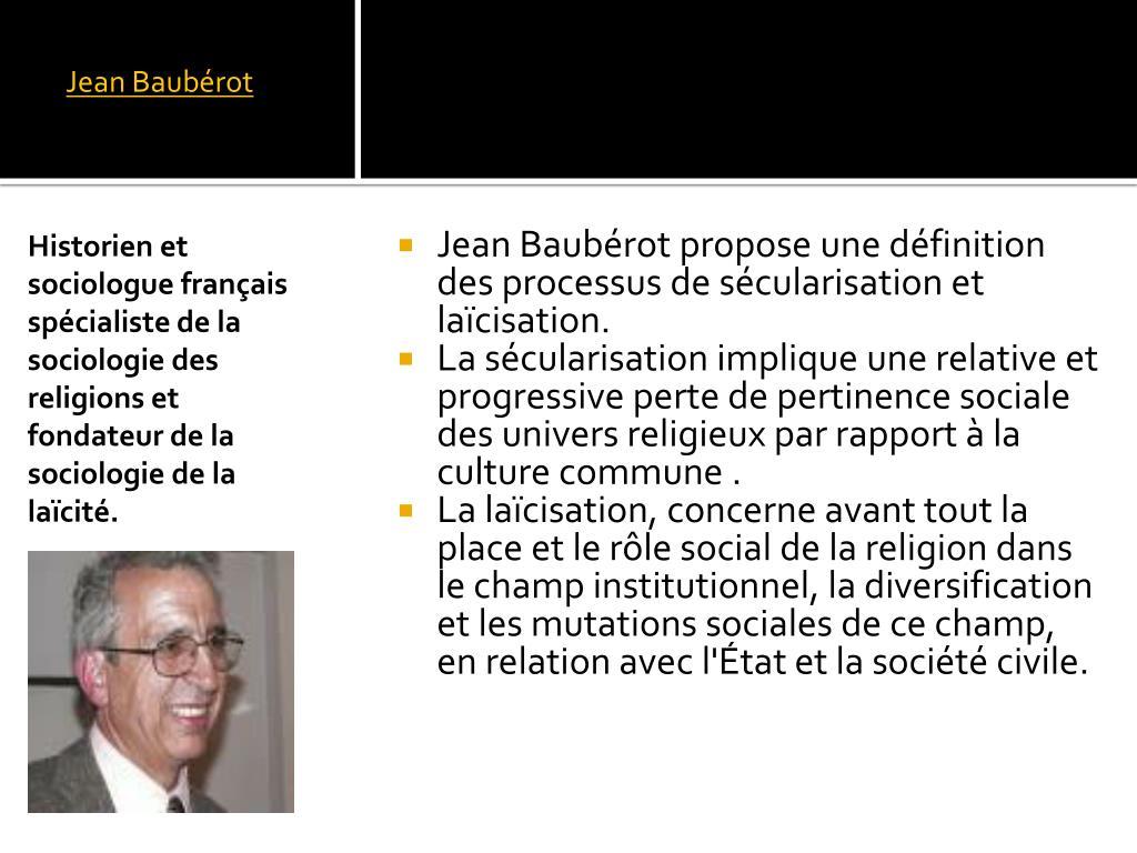 Jean Baubérot