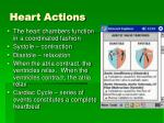 heart actions