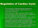 regulation of cardiac cycle