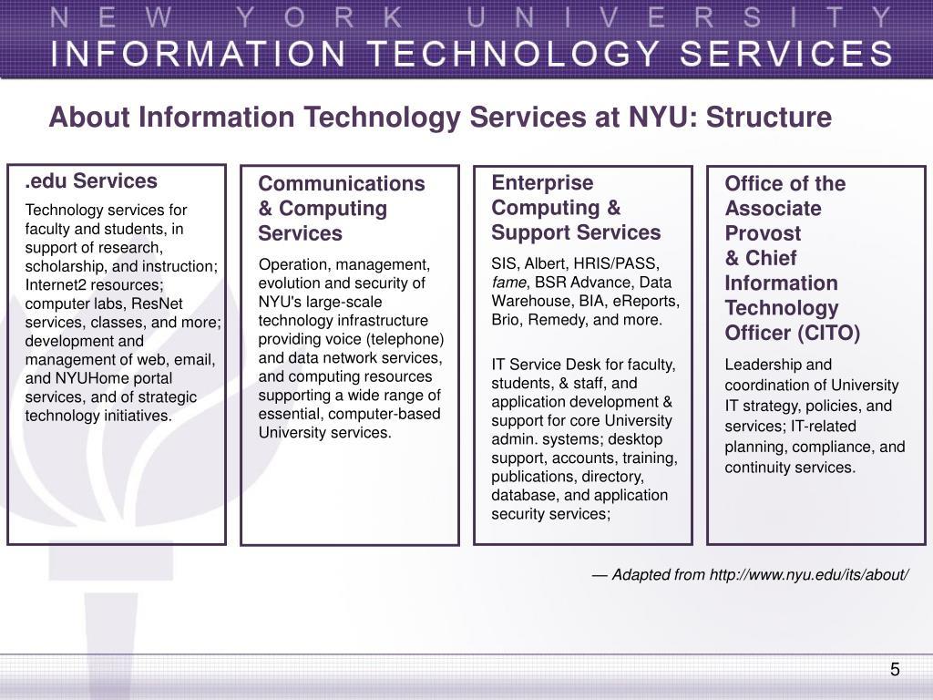 Services At Nyu