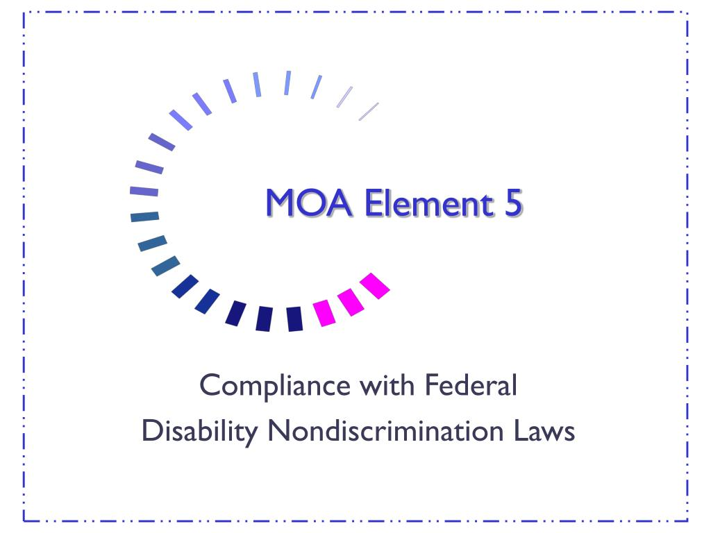 MOA Element 5