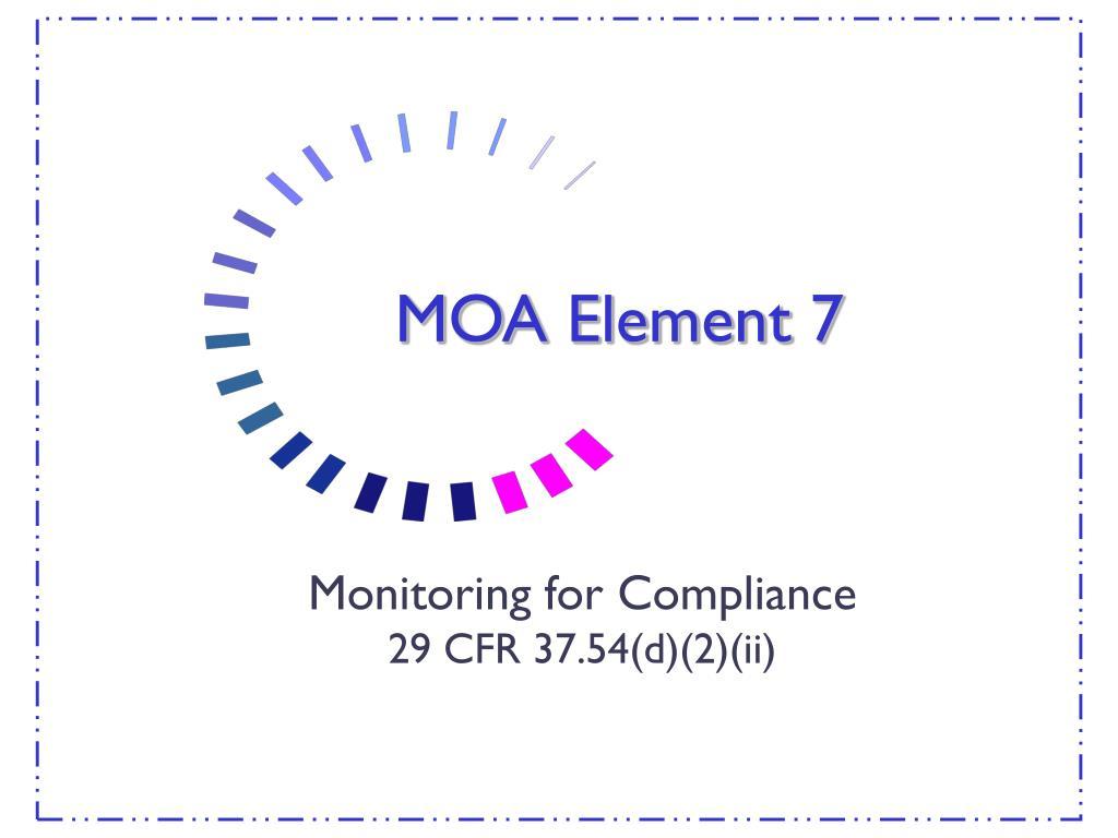 MOA Element 7