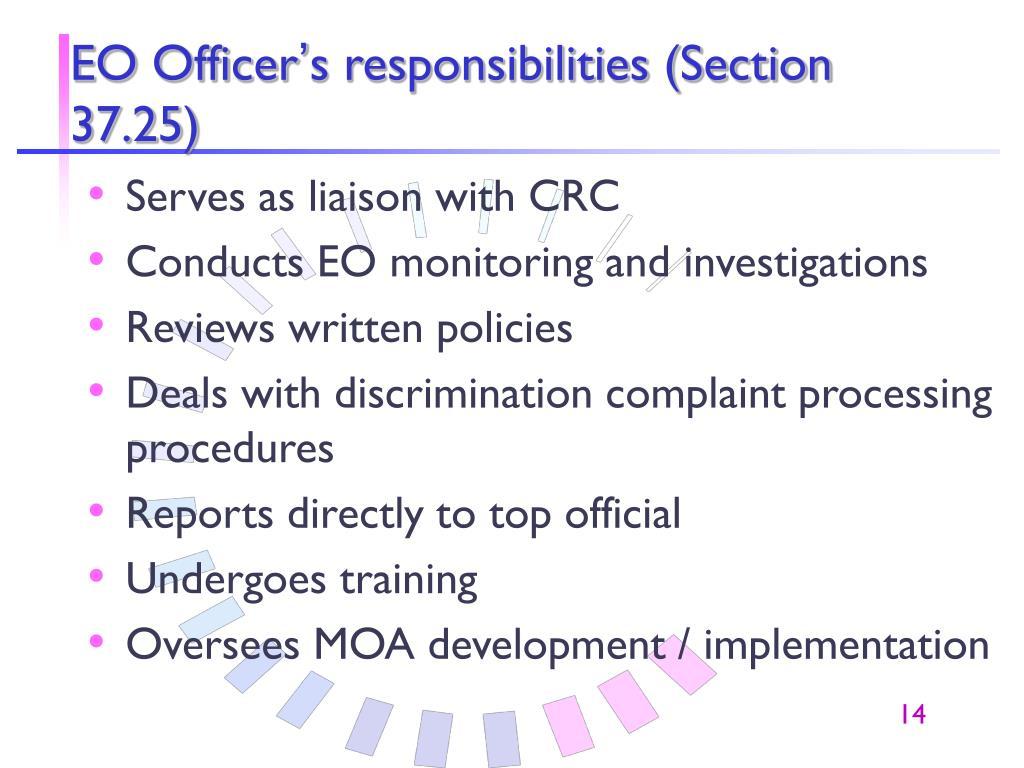 EO Officer