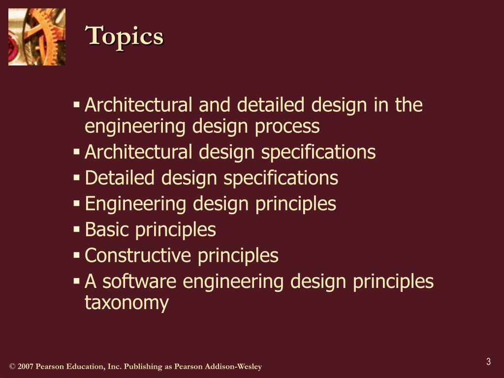 Ppt Engineering Design Resolution Design Principles Powerpoint Presentation Id 441922