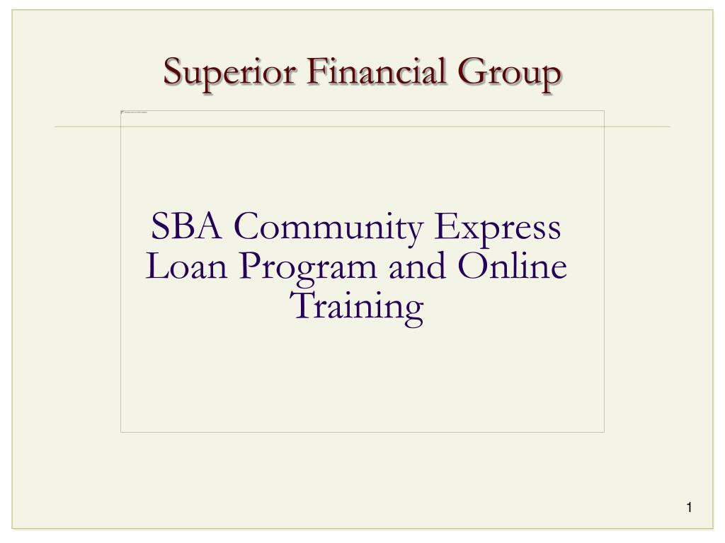 superior financial group l.