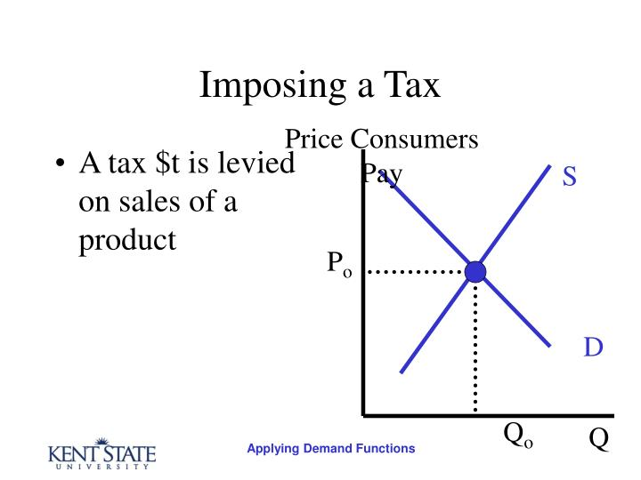 Imposing a tax3