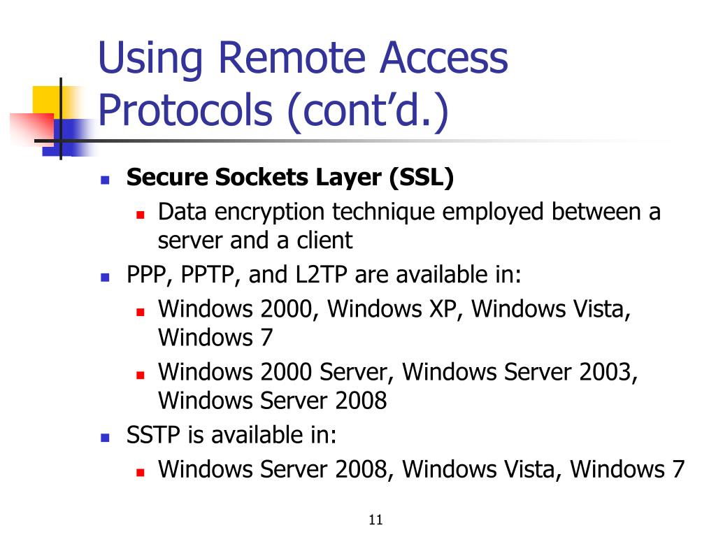 PPT - Remote Access Services PowerPoint Presentation - ID:442082