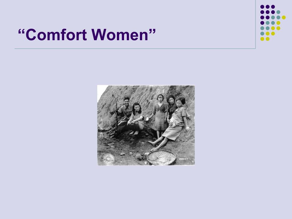 """""""Comfort Women"""""""