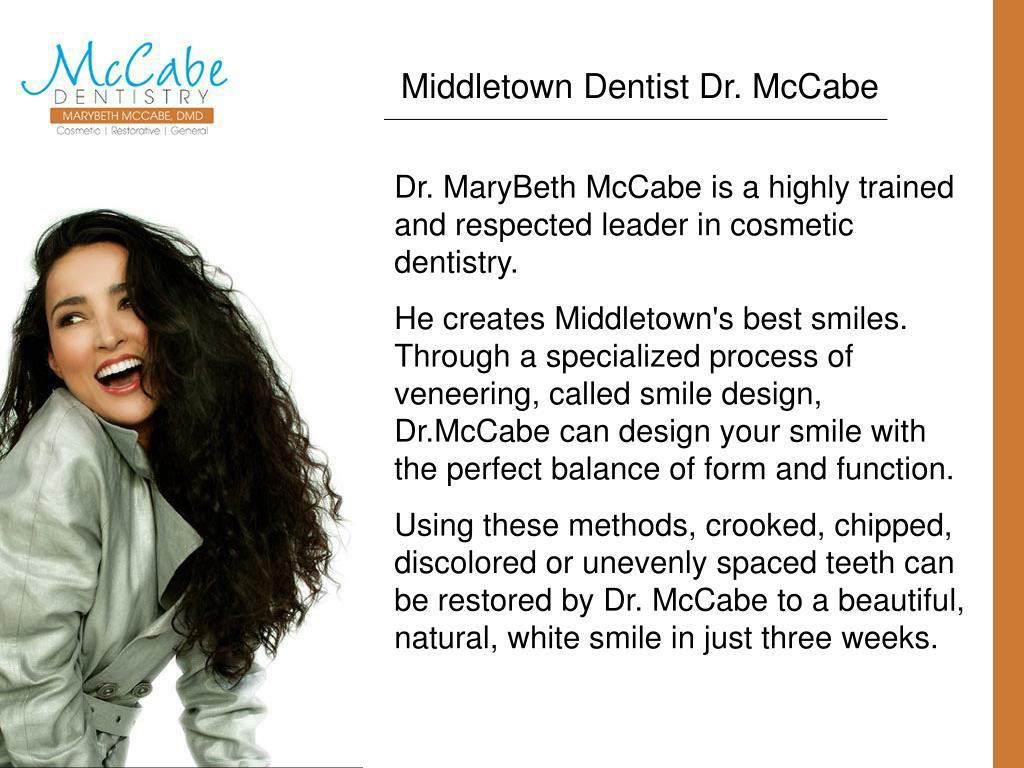 Middletown Dentist Dr. McCabe
