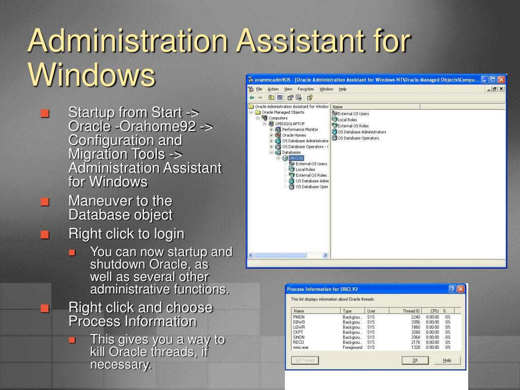 Administration Assistant for Windows