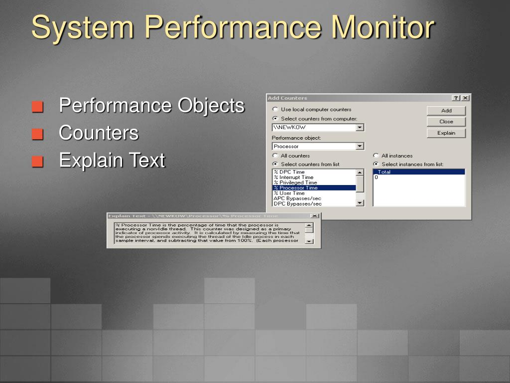 System Performance Monitor