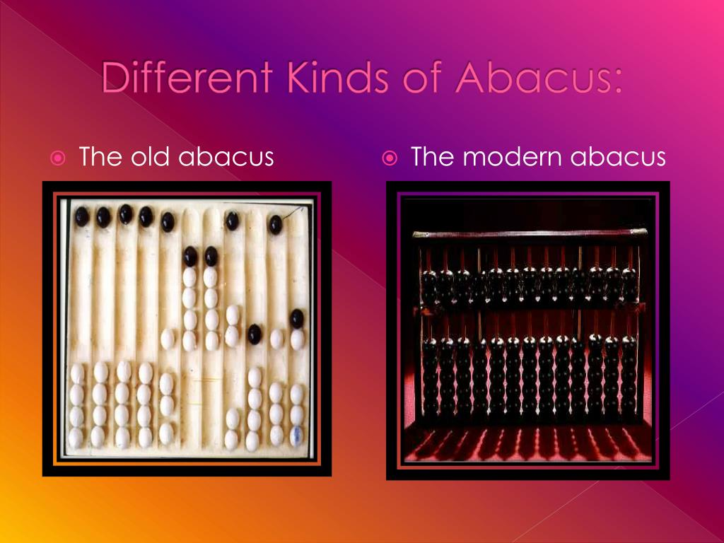 Different Kinds of Abacus: