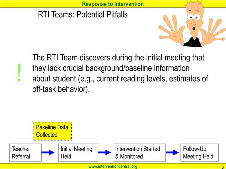 Rti teams potential pitfalls3