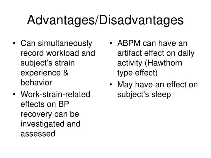 Can simultaneously record workload and subject's strain experience & behavior