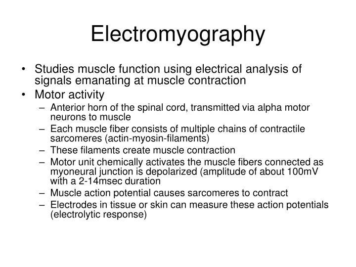 Electromyography