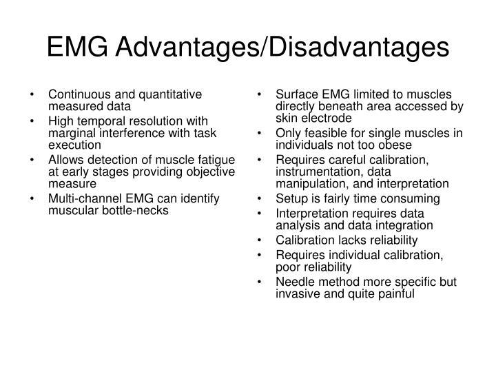 Continuous and quantitative measured data