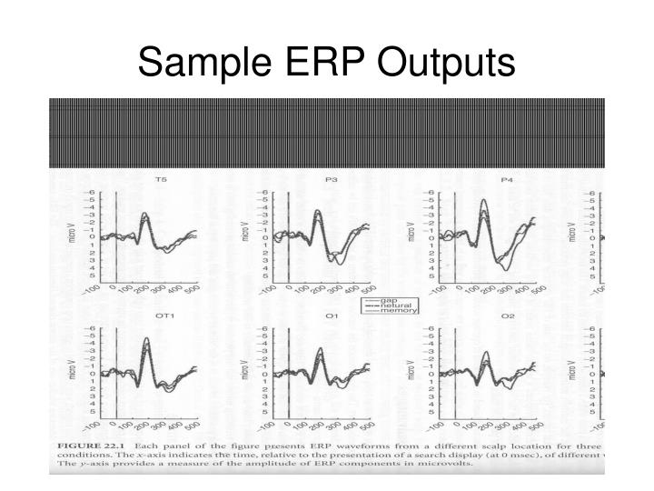 Sample ERP Outputs