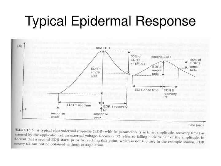 Typical Epidermal Response