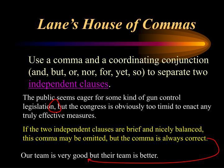 Lane s house of commas3