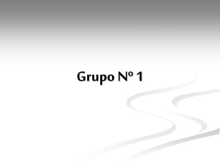 Grupo n 1
