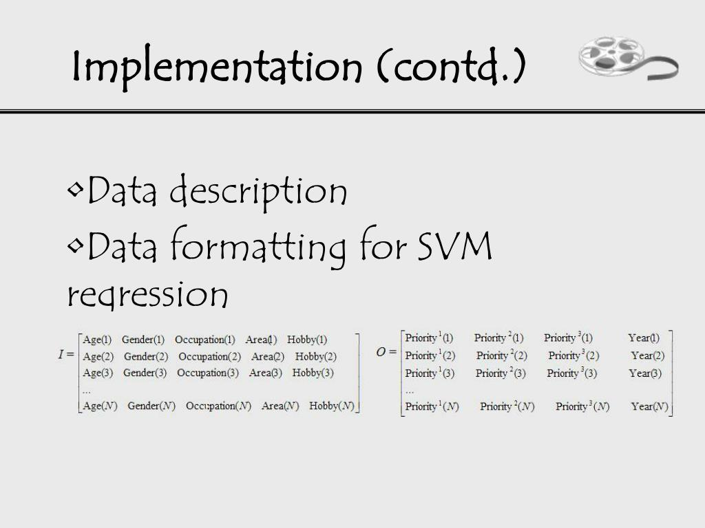 Implementation (contd.)