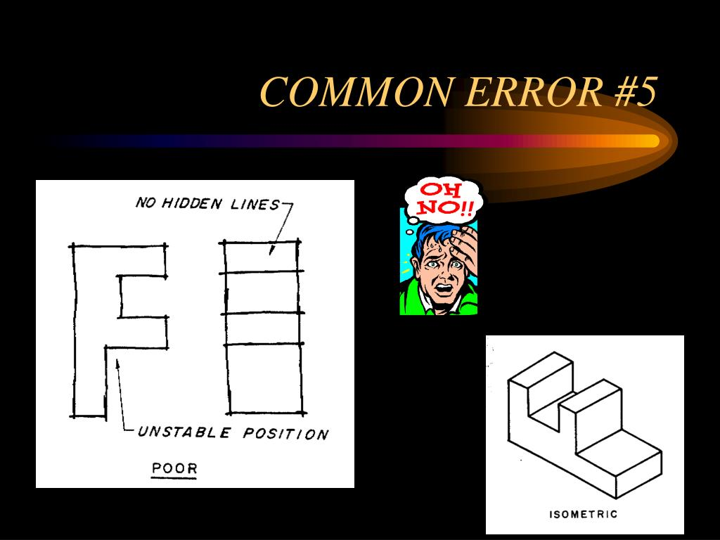 COMMON ERROR #5