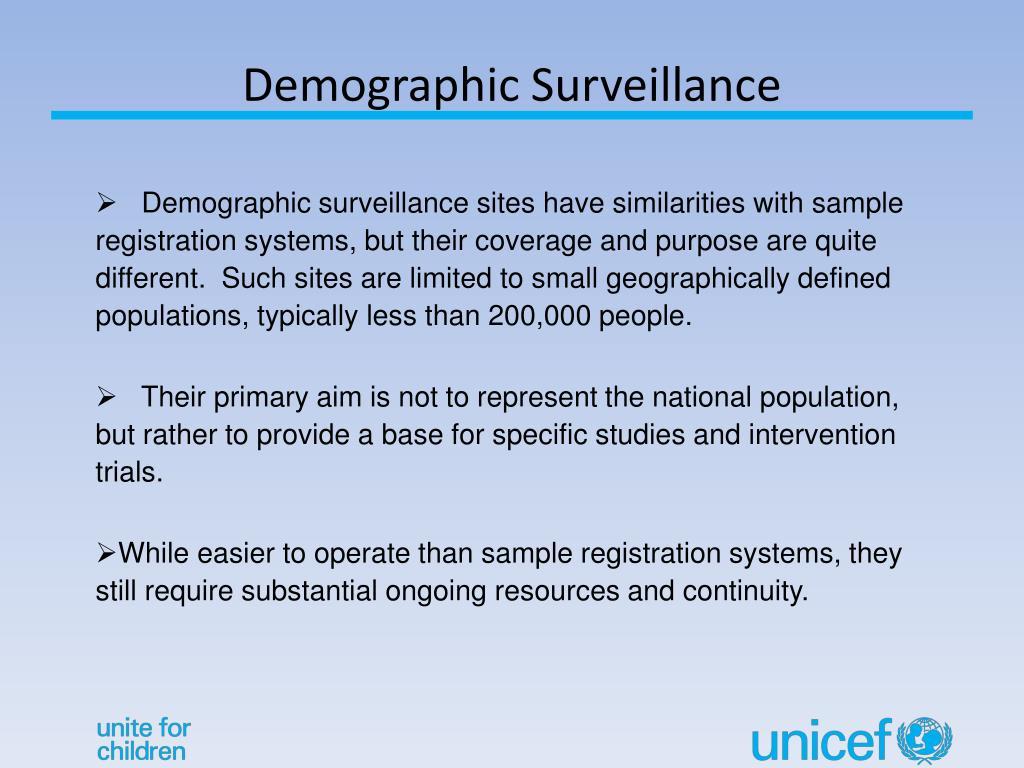 Demographic Surveillance