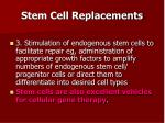 stem cell replacements1