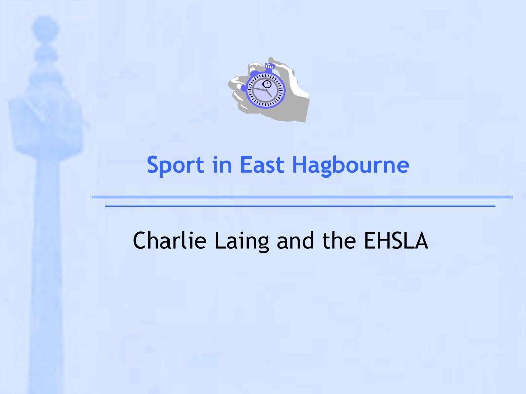 sport in east hagbourne l.